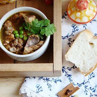 Photo of Nihari – Spicy Soup with Tender Lamb Bones by Lubna Karim at BetterButter