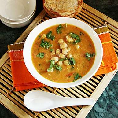 Photo of Chickpea Soup by Lubna Karim at BetterButter