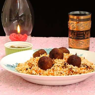 Photo of Kofta Biryani/Spicy Minced Lamb Meat Balls Pilaf by Lubna Karim at BetterButter
