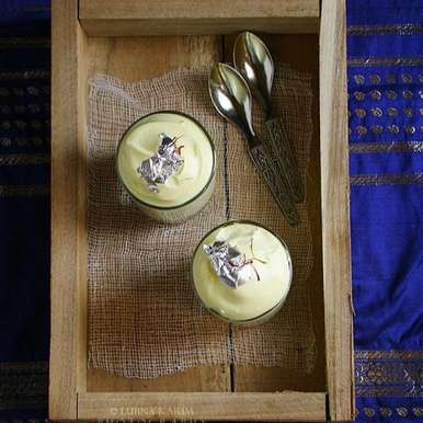Photo of Saffron Mousse by Lubna Karim at BetterButter