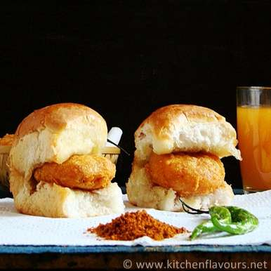 Photo of Vada Pav by Lubna Karim at BetterButter