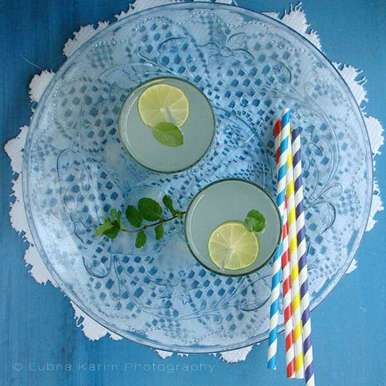 Photo of Mint Lime-ade by Lubna Karim at BetterButter