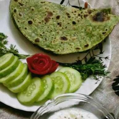 Photo of Palak Roti by Madhu Makhija at BetterButter