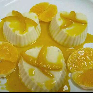 Photo of Orange panacotta by Madhu Makhija at BetterButter