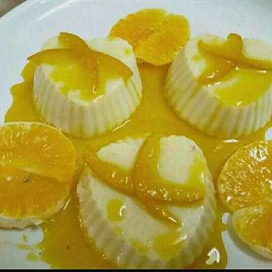 Photo of Orange Pannacotta by Madhu Makhija at BetterButter