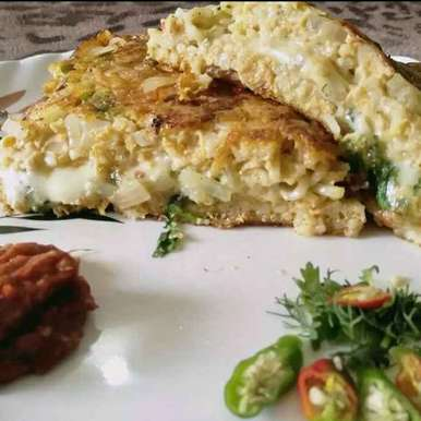 Photo of Maggi omlete ( kids special) by Madhu Makhija at BetterButter