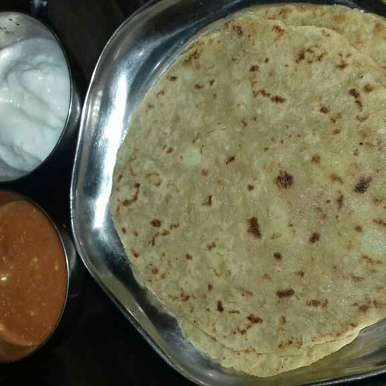 Upvas thalipith recipe in Hindi,उपवास थालीपीठ, Madhu Mala