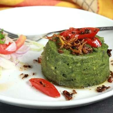 Photo of Garam Masala Spiced Palak Paneer Timbale by Madhuli Ajay at BetterButter