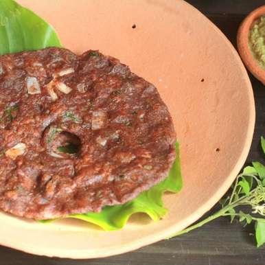Photo of Ragi Maavu Roti (Ragi/Nagli/Finger millet Flour Roti) by Madhuli Ajay at BetterButter