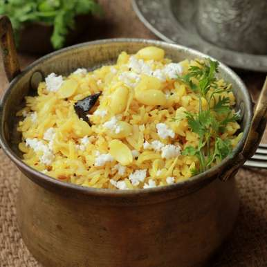 Photo of Dalimbyacha (Vaalacha) Bhaat- Spiced Rice with Field beans sprouts by Madhuli Ajay at BetterButter