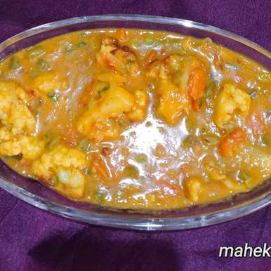 Photo of mugdal with vegetable by Mahek Naaz at BetterButter