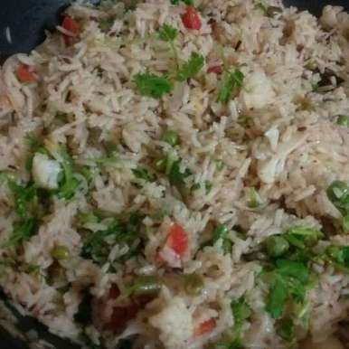 Photo of Veg Pulav by mahekheena. Pahilwani at BetterButter