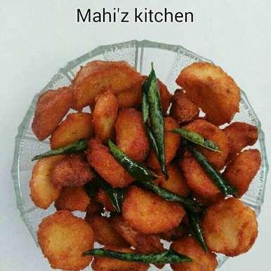 Photo of Chepankezhangu varuval ( or) taro root roast by Mahi Venugopal at BetterButter