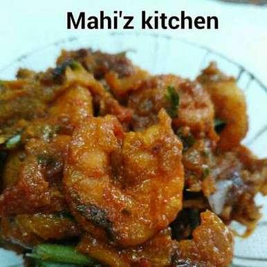 Photo of Prawns Pepper Gravy by Mahi Venugopal at BetterButter