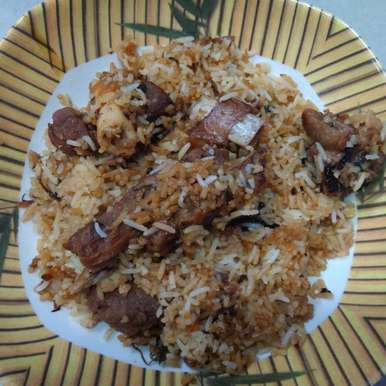 Photo of Hyderabadi mutton dum biryani by Mahima Chandani at BetterButter