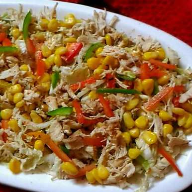 Photo of Corn and Chicken salad by Mahua Bhattacharjee at BetterButter