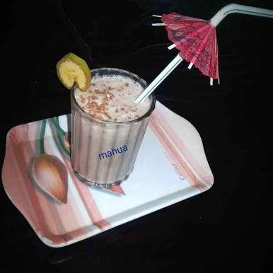 Photo of Chocolate Banana Milk shake by Mahua Nath at BetterButter