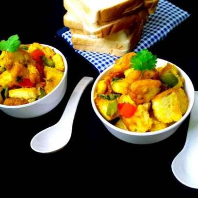 Photo of Bread poha by Mahua Nath at BetterButter