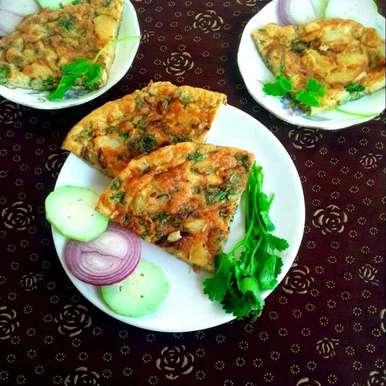 Photo of potato omelette by Mahua Nath at BetterButter