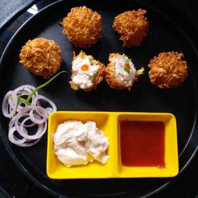 Potato golden ball recipe in Bengali,পোটাটো গোল্ডেন বল, Mala Basu