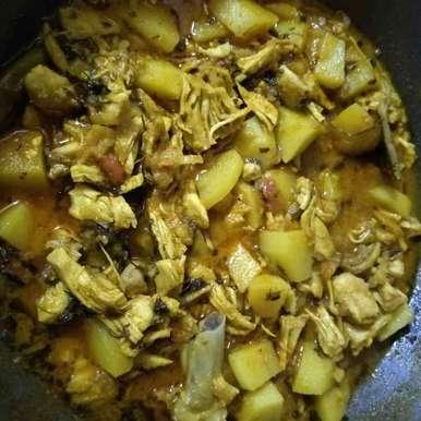 Mughlai Chicken Bharta recipe in Bengali,মুঘলাই আলু চিকেন ভর্তা, Malini Dutta
