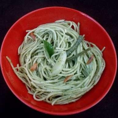 Photo of Pasta Al Pesto by mallika kappagantula at BetterButter