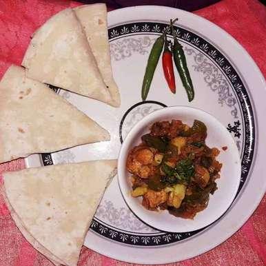 Photo of Rumali roti by Mamata Nayak at BetterButter