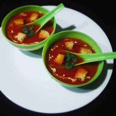 Photo of Gajar tamatar soup by Mamata Nayak at BetterButter