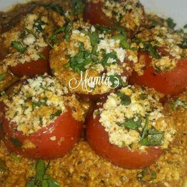 Photo of Stuffed Tomatoes by Mamta Joshi at BetterButter
