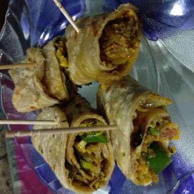 Photo of Kathi rolls by Mamta Rastogi at BetterButter