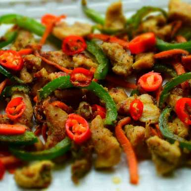 Photo of Trim Chicken Strip Fry by Manami Sadhukhan at BetterButter