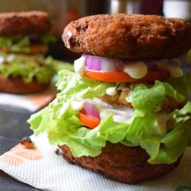 Mac And Cheese Bun Burgers, How to make Mac And Cheese Bun Burgers
