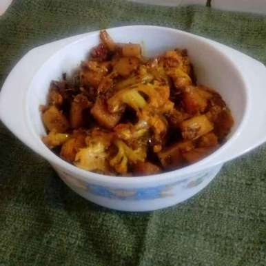 Photo of Aloo Gobhi by Mandeep hundal at BetterButter