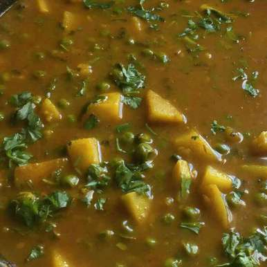 Photo of Aloo Matar by Mandeep hundal at BetterButter