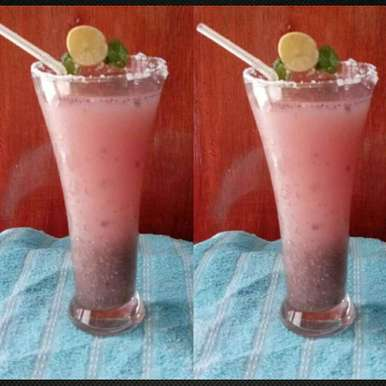 Photo of Pomegranate Chia Healthy Drink by Mandeep hundal at BetterButter