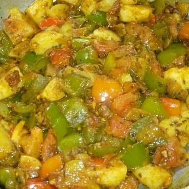 Photo of Aloo Capsicum by Mandeep hundal at BetterButter