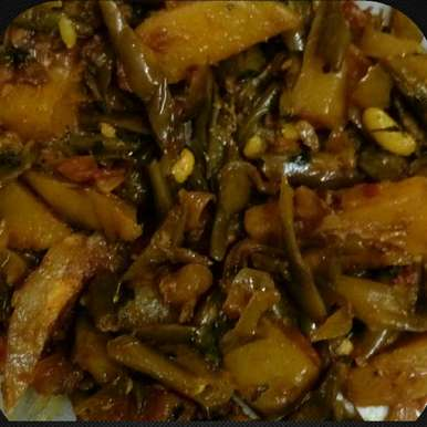 Photo of Aloo Beans by Mandeep hundal at BetterButter