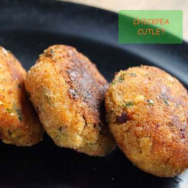 Chickpea Cutlet   Chickpea patty   Kabuli channe ki tikki, How to make Chickpea Cutlet   Chickpea patty   Kabuli channe ki tikki