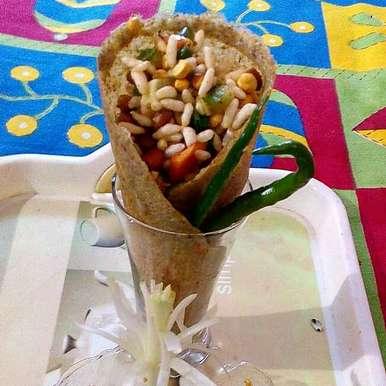 Photo of Edible cone bhel by Manisha Jain at BetterButter