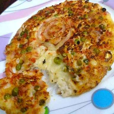 Photo of Cheese Stuffed Uttapam by Manisha Jain at BetterButter