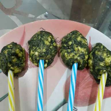 Spinach Pops, How to make Spinach Pops