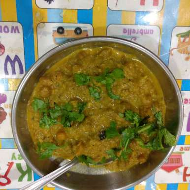Photo of Chana Masala. ( Maharashtrian style) by Manisha Shukla at BetterButter