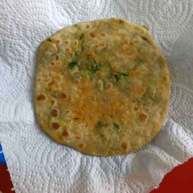 Photo of Quick Carrot and Spinach Paratha for kids breakfast. by Manisha Shukla at BetterButter