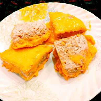 Photo of Vermicelli Sacch Mucch Aam No Bake Cake( Biranj) . by Manisha Shukla at BetterButter