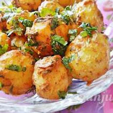 Photo of Tandoori Aloo /  Oven roasted potato by manju shah at BetterButter
