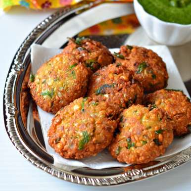 Photo of Oats Paruppu Vadi |Oats Masala Vadai by Manjula Bharath at BetterButter