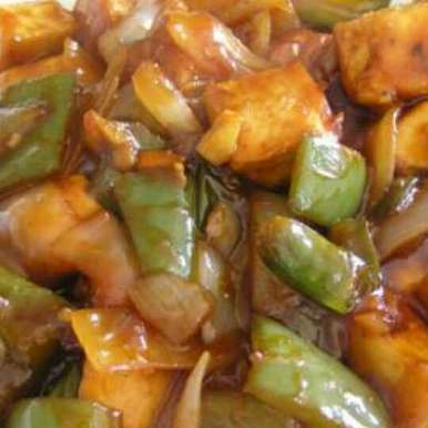 Photo of Chilly paneer with gravy. by Dr.Mankanwal Kaur at BetterButter