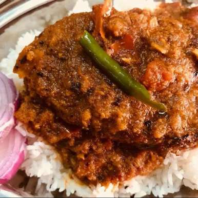 Photo of Fish curry with rice by Mansi Agnihotri at BetterButter