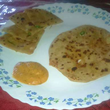 Photo of Aloo Paratha by Margaret Charles at BetterButter