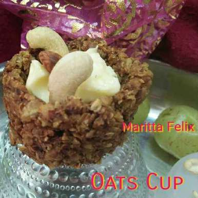 Oats Cup, How to make Oats Cup